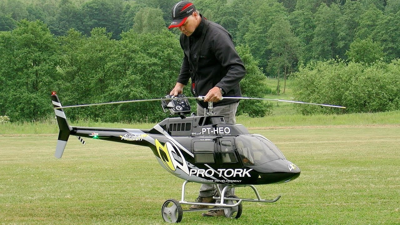 Things you need to know about flying Collective Pitch RC helicopters